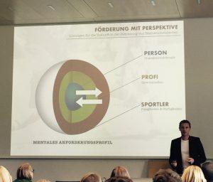 Der ehemalige Sportpsychologe von Bayer 04 Leverkusen erläuterte seine Modelle zur Förderung mit Perspektive. © privat