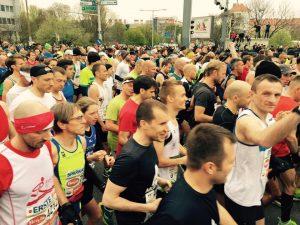 ...oder gemeinsam mit tausenden Läufern beim Marathon..