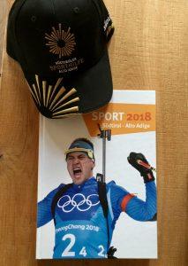Reich beschenkt! Vielen Dank an die Südtiroler Sporthilfe! © Psychologie Constantini