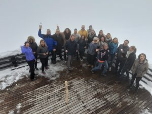 Im Nebel über Innsbruck - Danke an die Führungskräfte des BFI für den spannenden Tag