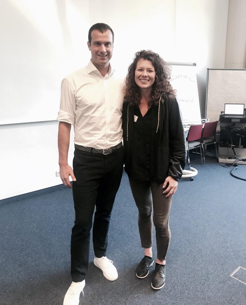 Um einige Erkenntnisse reiche - Ich bin froh mich als Freiwillige beim Workshop mit Markus Rogan gemeldet zu haben © privat